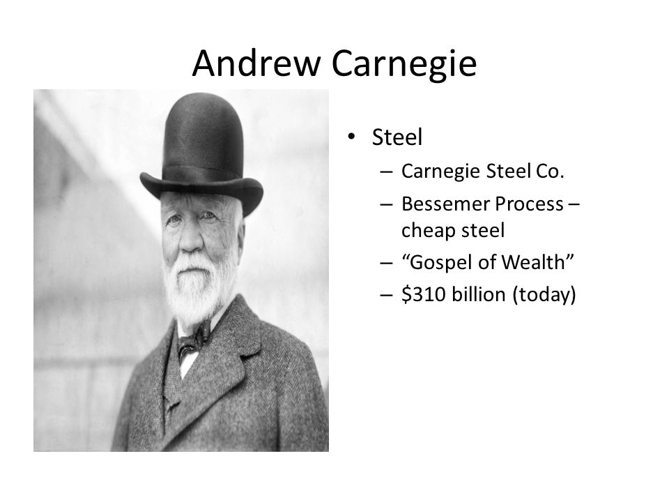Robber Barons Or Captains Of Industry Ppt Video Online