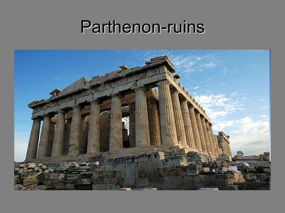Parthenon-ruins