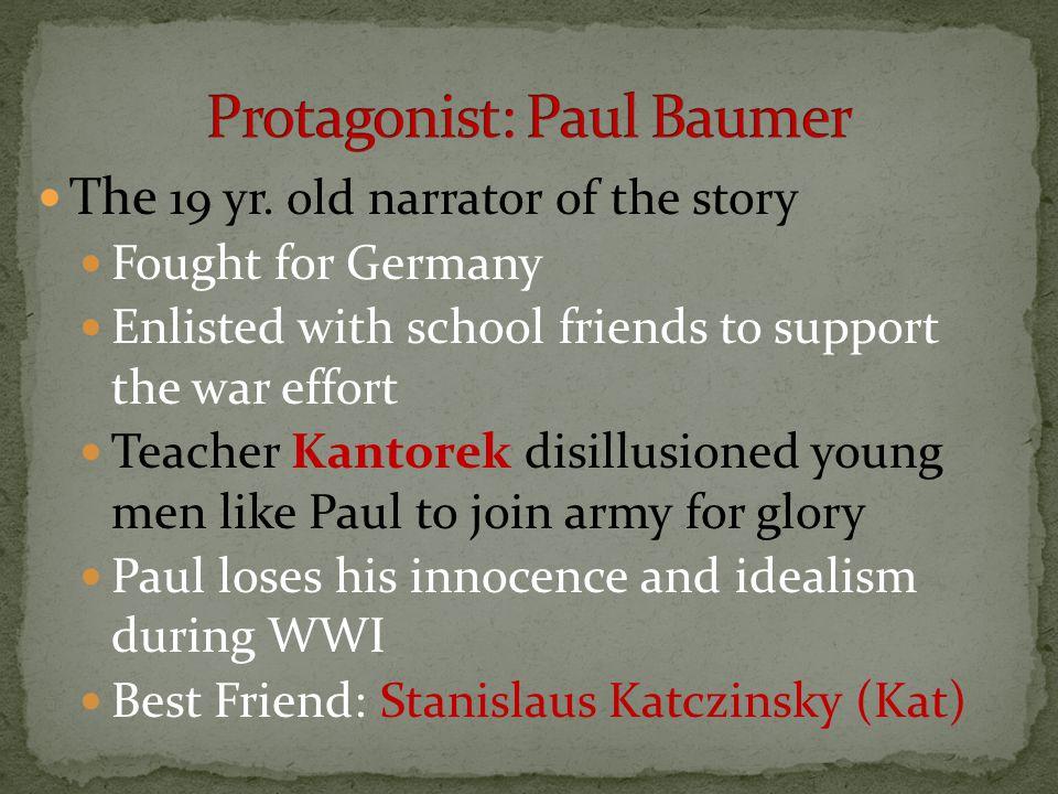 Protagonist: Paul Baumer
