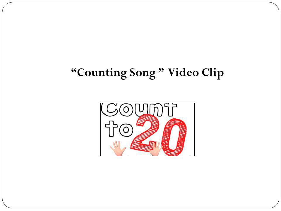 Counting Song Video Clip