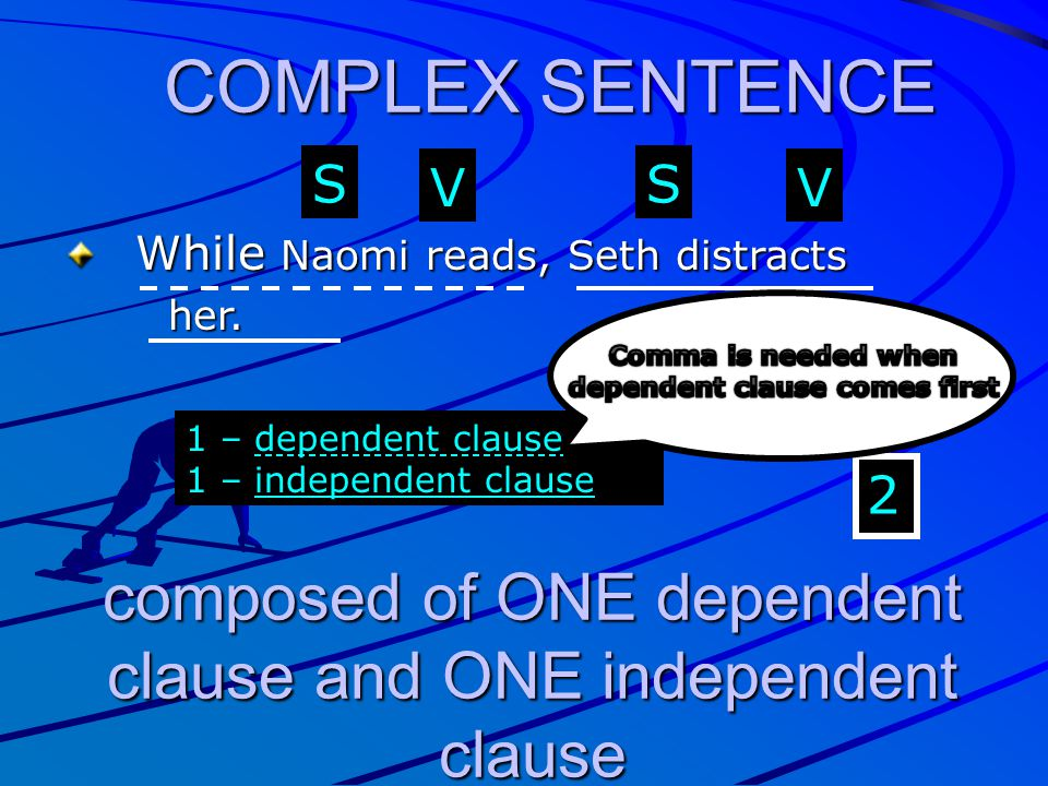 Comma is needed when dependent clause comes first