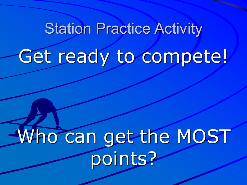Station Practice Activity