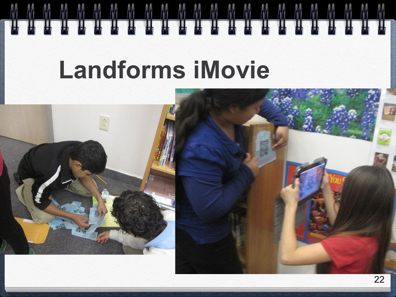 Landforms iMovie