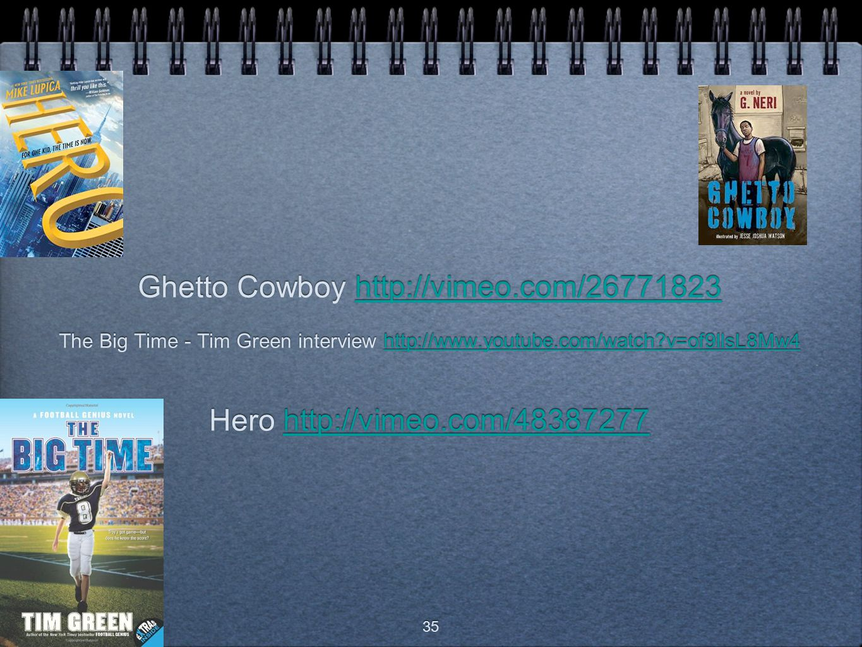 Ghetto Cowboy http://vimeo