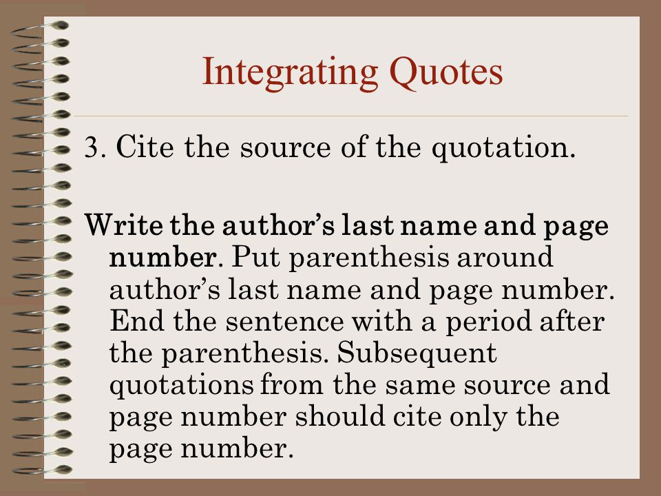"how to write an organized essay using ""tiqa"" ppt video online  integrating quotes 3 cite the source of the quotation"