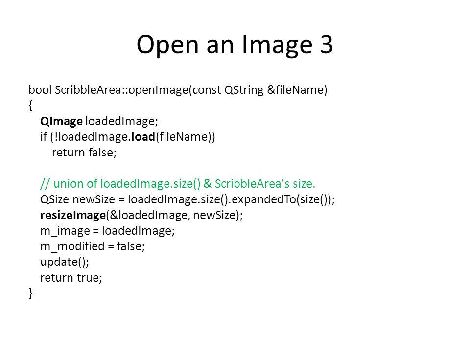 Open an Image 3
