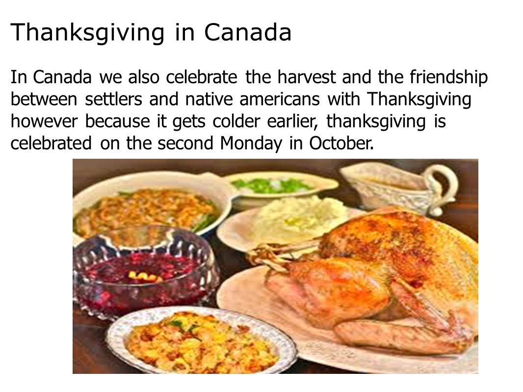 Thanksgiving in Canada
