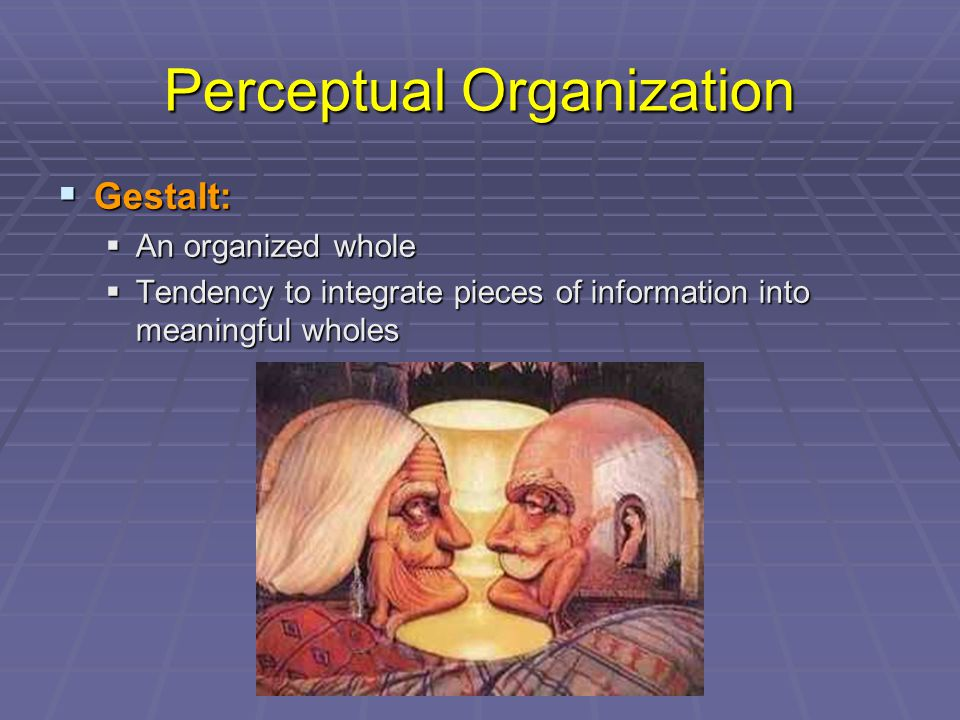 Perceptual Organization