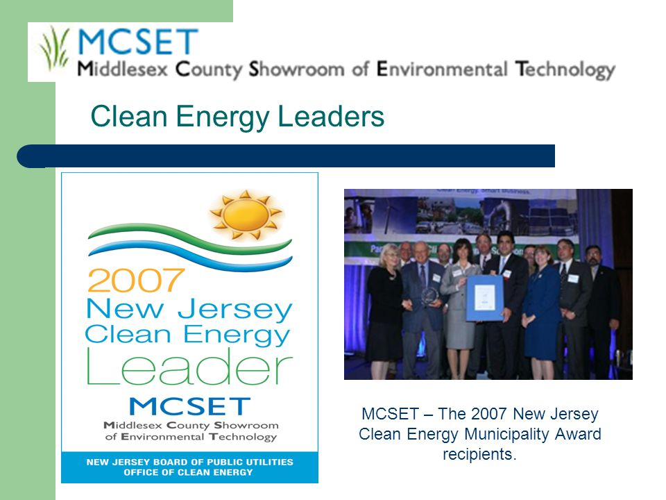 Clean Energy Leaders Which picture do you want This one or the one from Woodrow Wilson elementary school