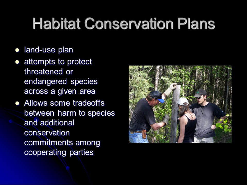 Habitat Conservation Plans
