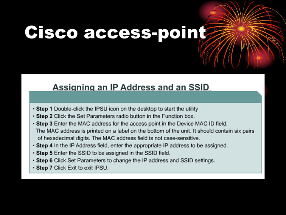 Cisco access-point