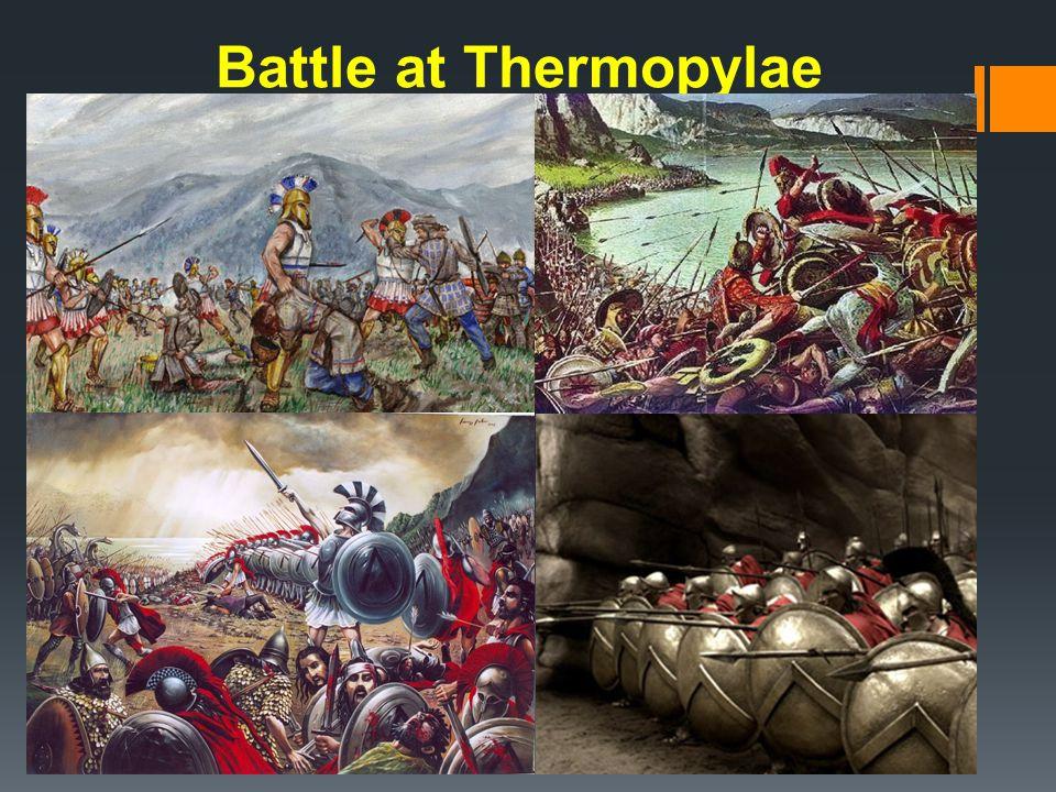 Battle at Thermopylae