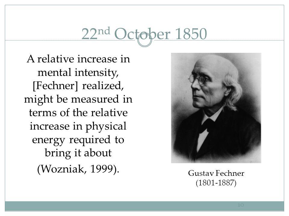 22nd October 1850