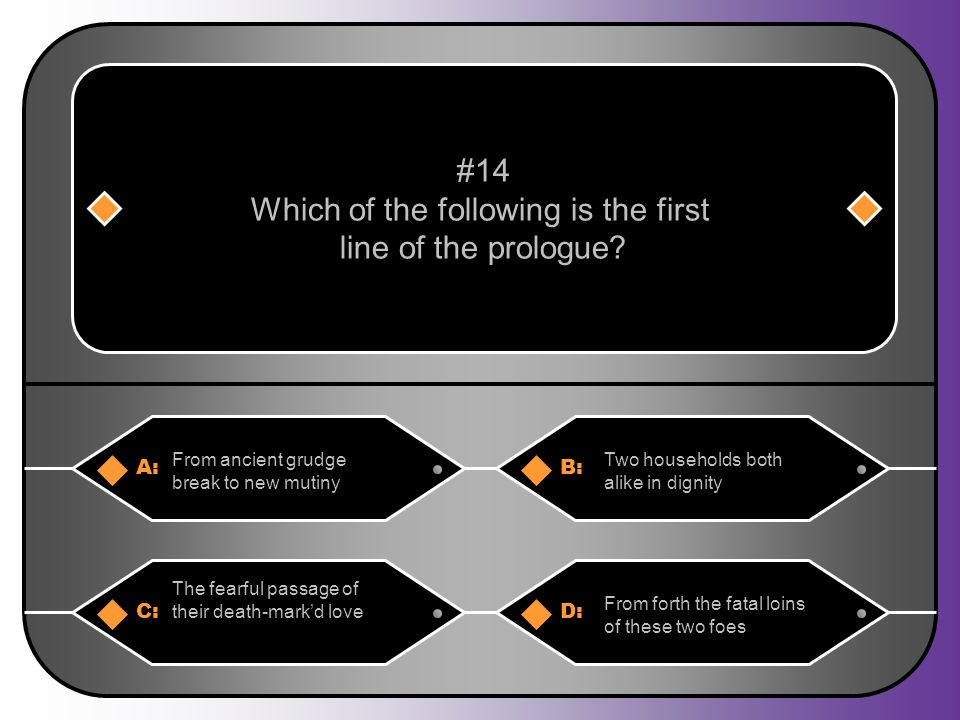 Which of the following is the first