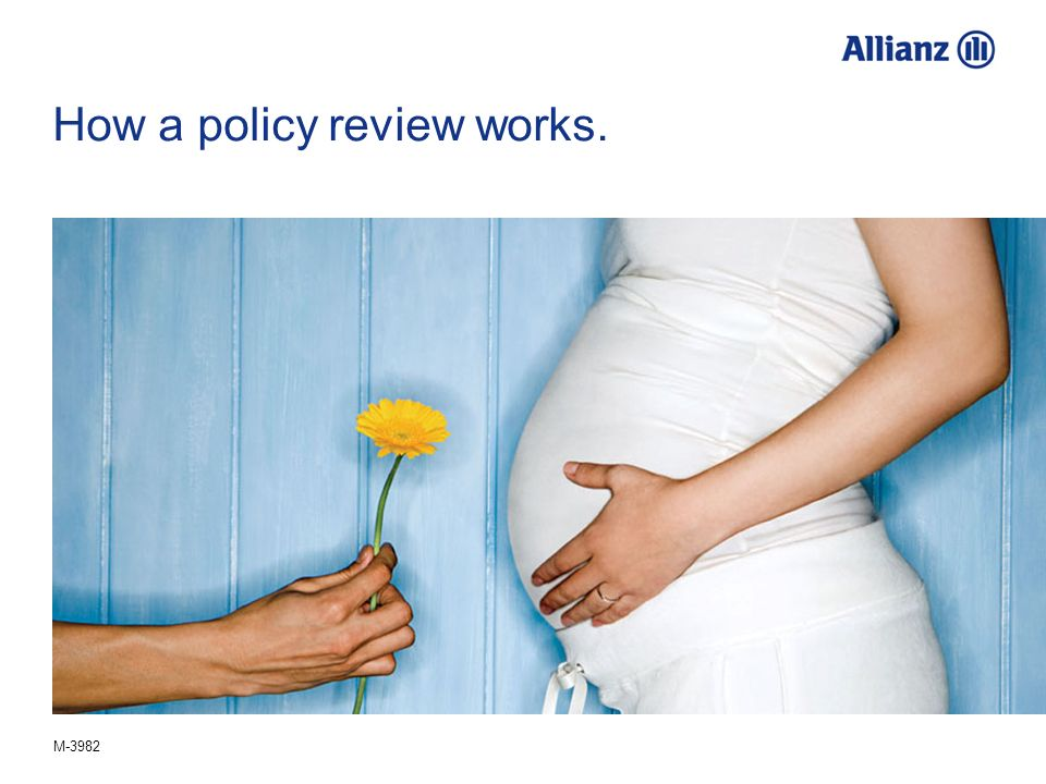 How a policy review works.
