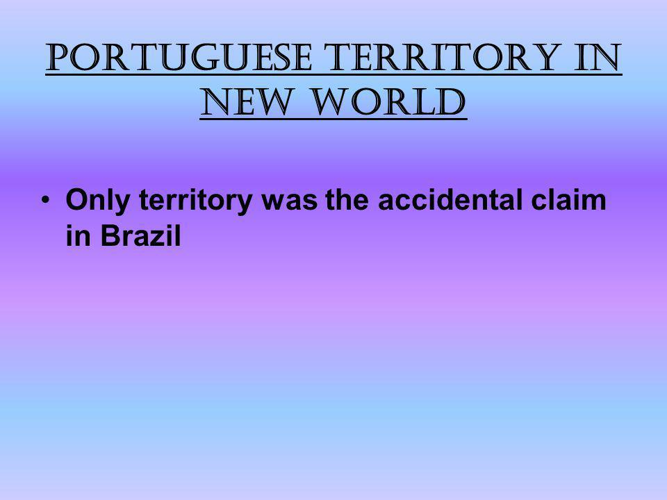Portuguese territory in New World