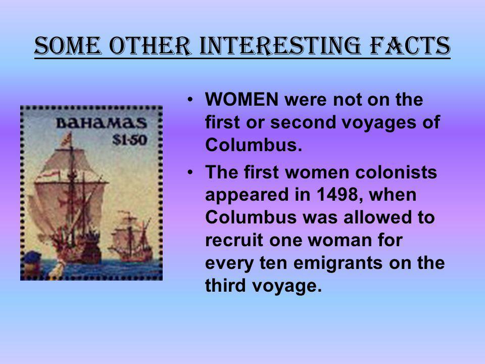 SOME OTHER INTERESTING FACTS