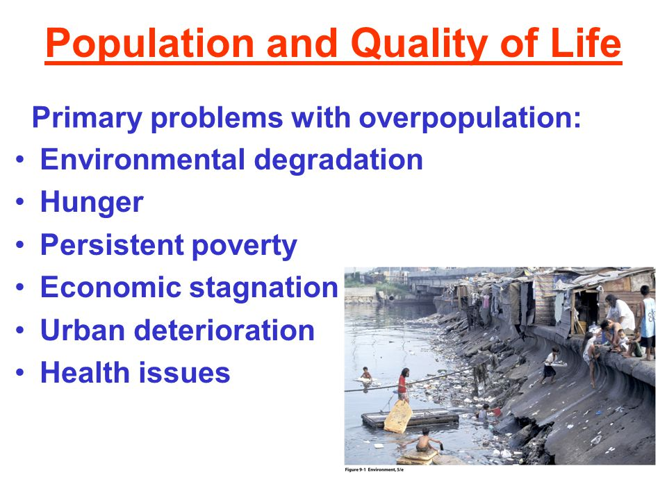 Population and Quality of Life