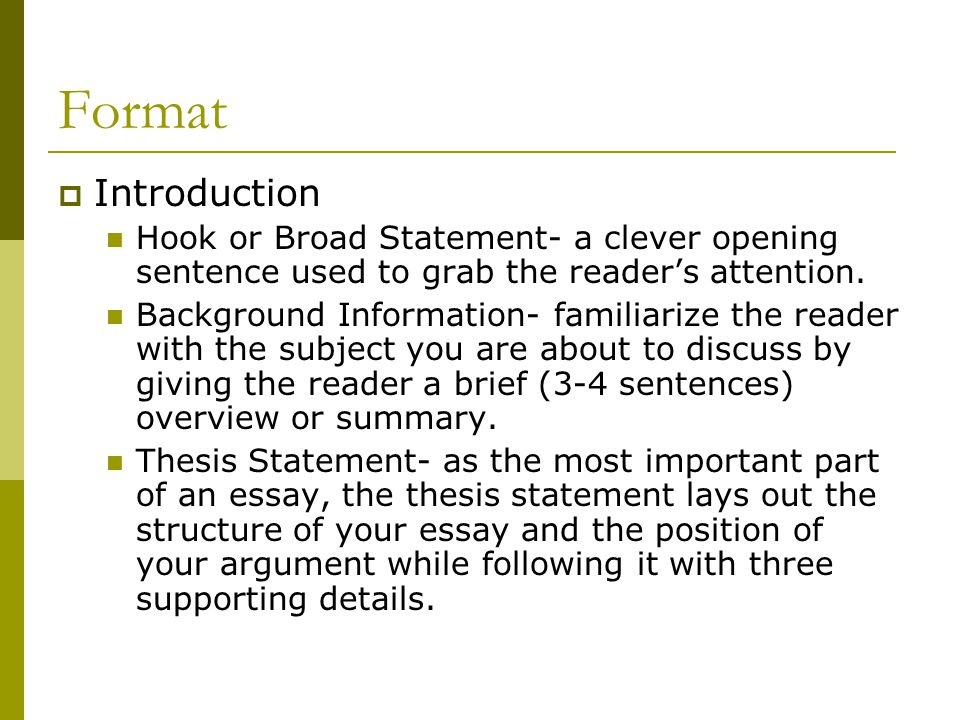 opening sentence of a senior thesis A good abstract explains in one line why the paper is important  the  introduction should be focused on the thesis question(s)  if at all possible, start  your thesis research during the summer between your junior and senior year - or  even.