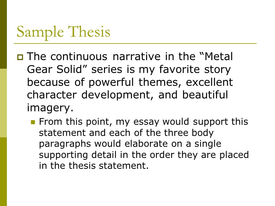 metal gear solid essay By the way, have you guys read this essay https://vs642wordpresscom/2015/ 09/22/critical-analysis-of-metal-gear-solid-v-the-boldfaced-lie/ i think every fan should read this, specially those who are pissed at the story of the game it adds a lot to the vision one could have of the ending and the character of.