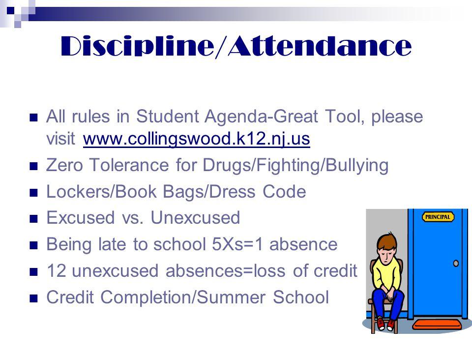 Discipline/Attendance