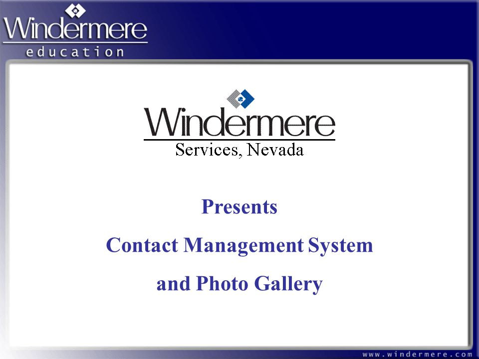 Contact Management System