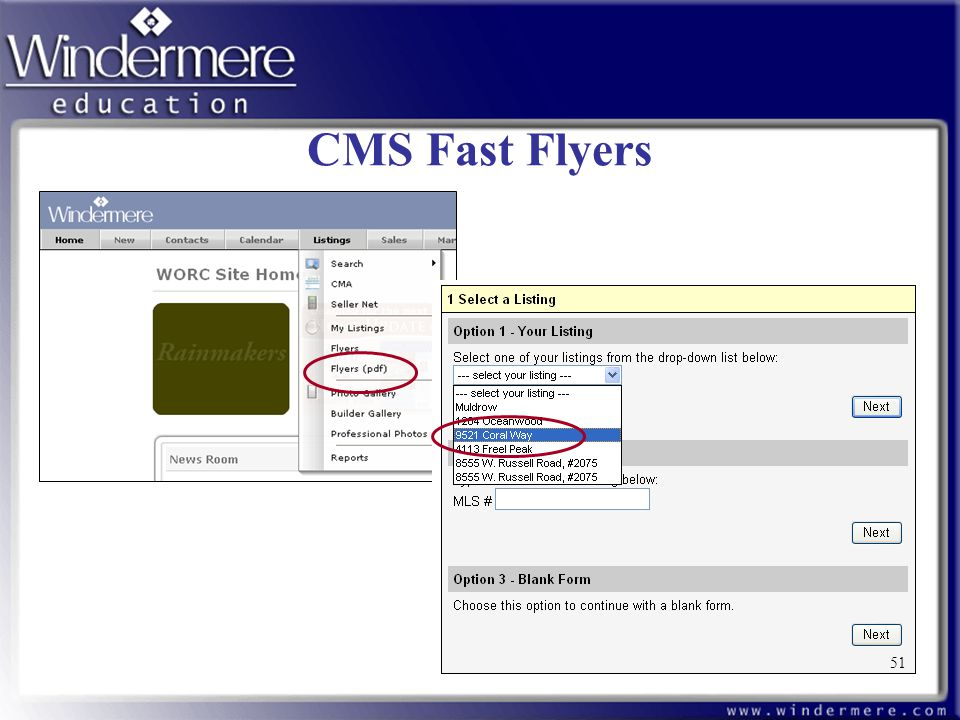 CMS Fast Flyers 51