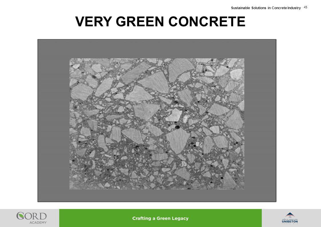 VERY GREEN CONCRETE