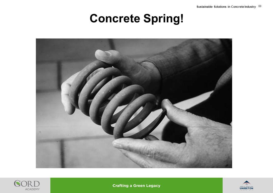 Concrete Spring!