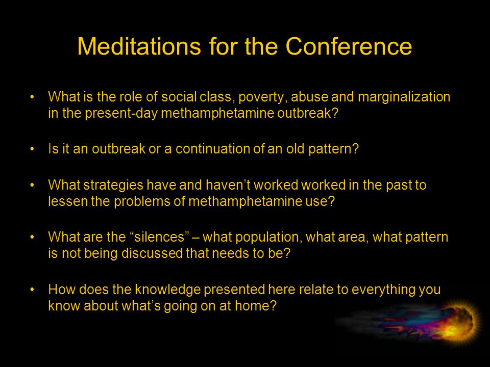 Meditations for the Conference