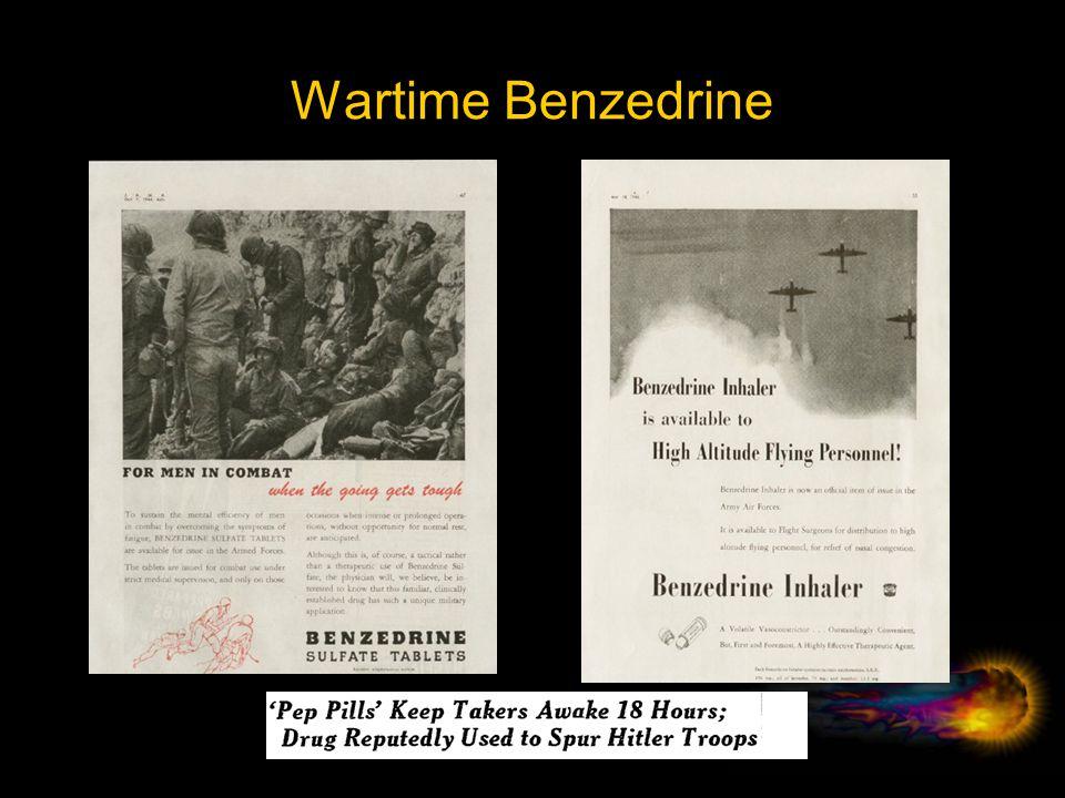 Wartime Benzedrine