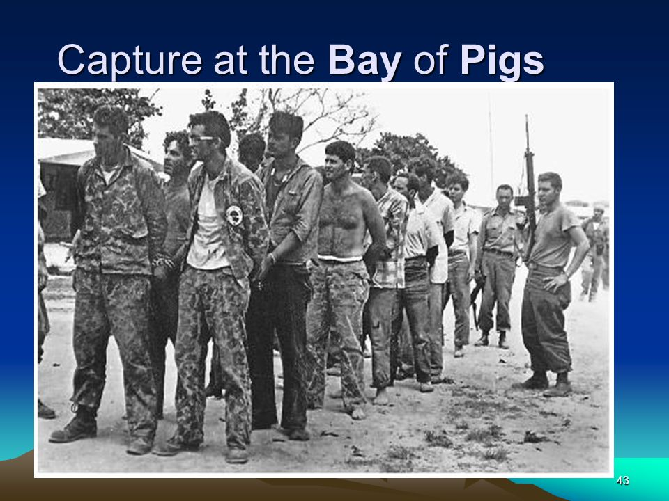Capture at the Bay of Pigs