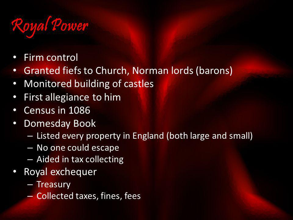 Royal Power Firm control
