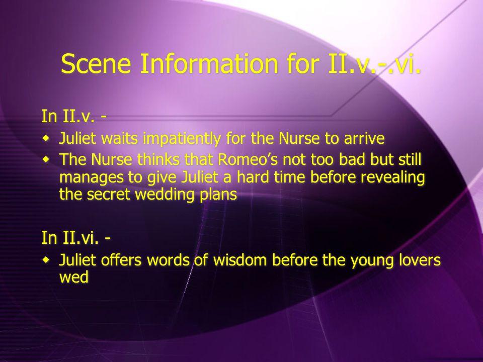 Scene Information for II.v.-.vi.