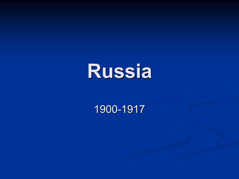 Russia 1900-1917