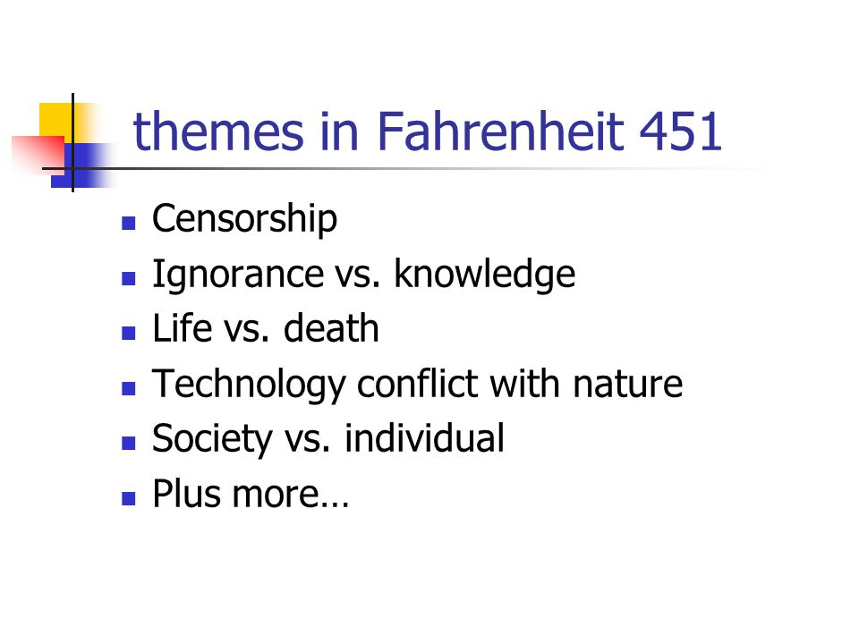 literary analysis fahrenheit 451 thesis statement Character analysis: fahrenheit 451 fahrenheit 451 is a great book written by ray bradbury in his novel, he writes about how the future is deprived from books and how life focuses on giant screens as their main source of entertainment.