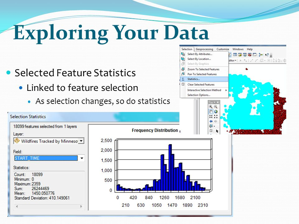 Exploring Your Data Selected Feature Statistics
