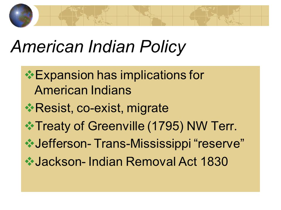 American Indian Policy