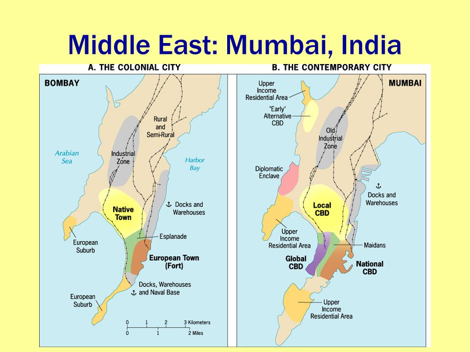 Middle East: Mumbai, India