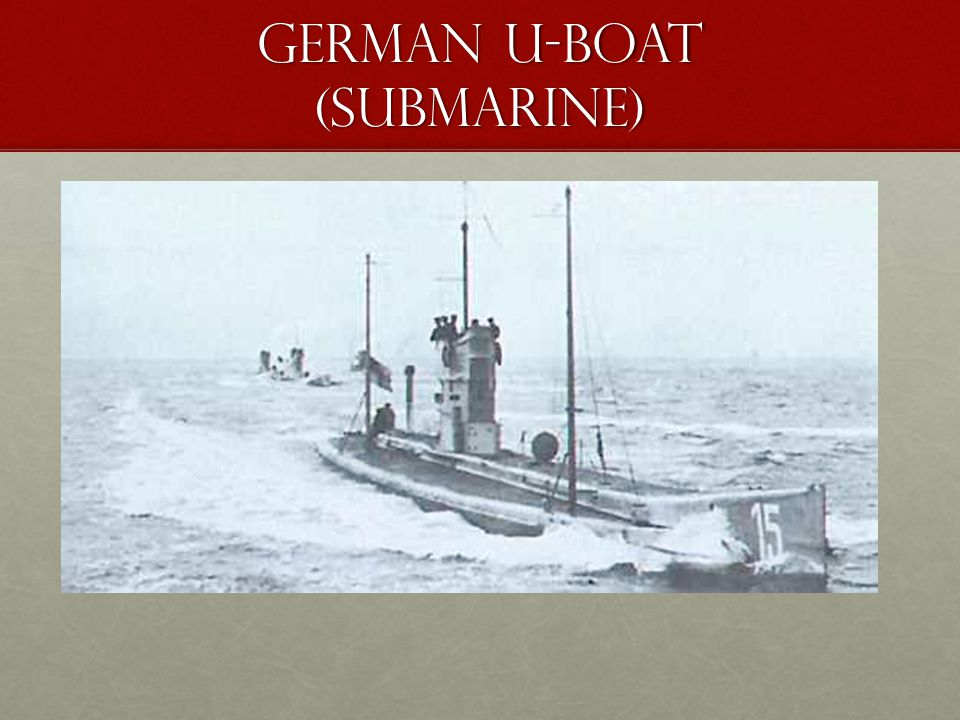 German u-boat (Submarine)