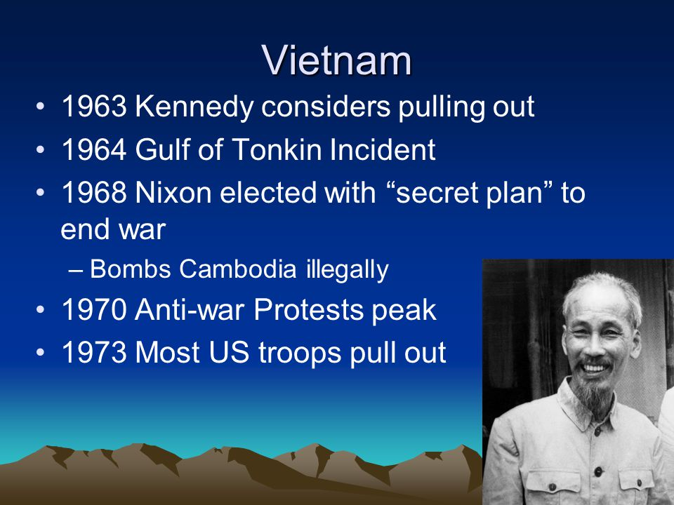 Vietnam 1963 Kennedy considers pulling out
