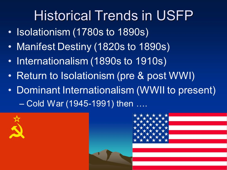 Historical Trends in USFP