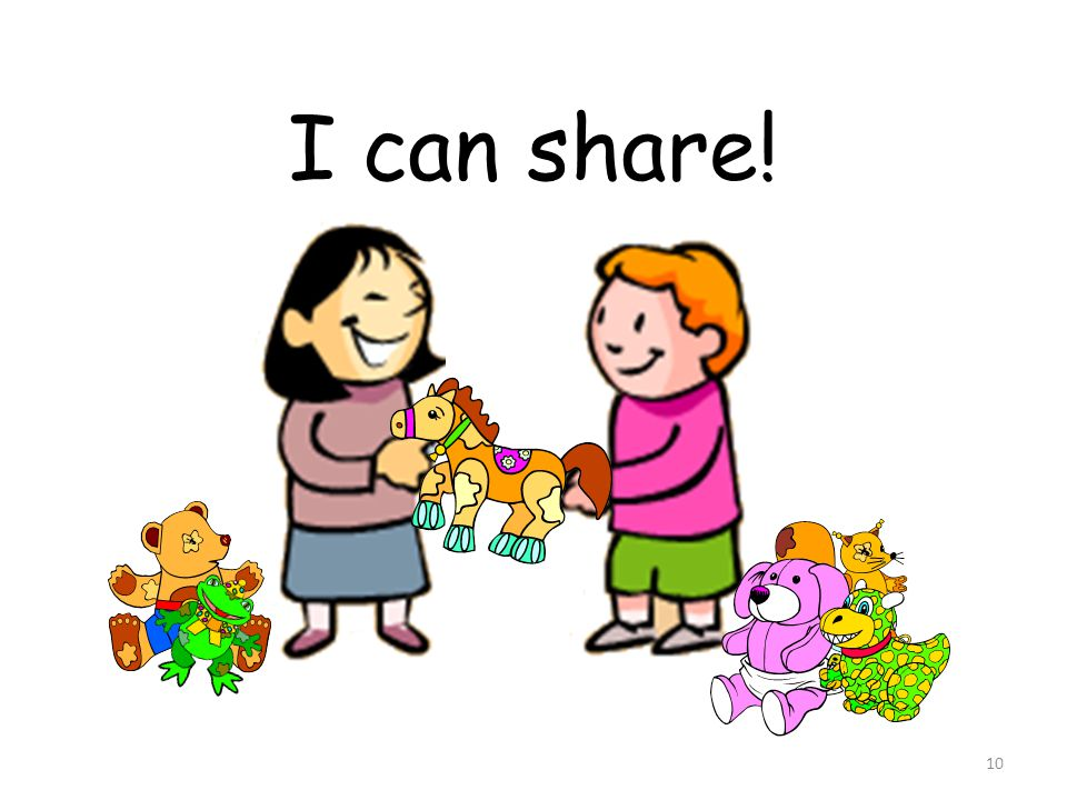 I can share!