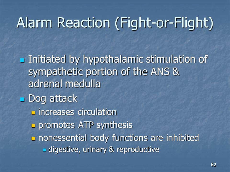 Alarm Reaction (Fight-or-Flight)