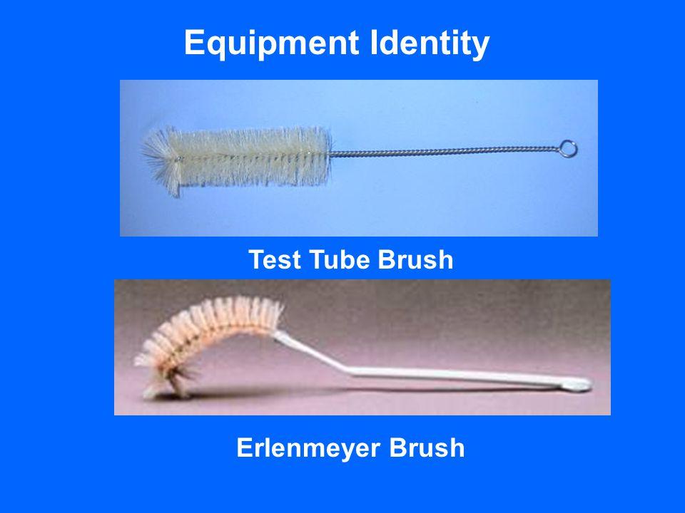 Equipment Identity Test Tube Brush Erlenmeyer Brush