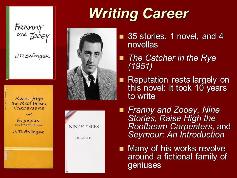 Writing Career 35 stories, 1 novel, and 4 novellas