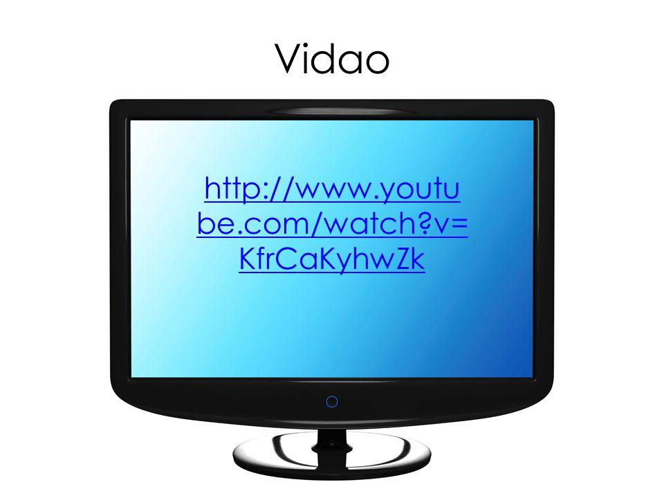 Vidao http://www.youtube.com/watch v=KfrCaKyhwZk