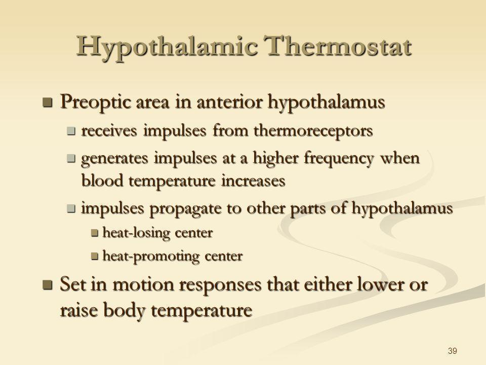 Hypothalamic Thermostat
