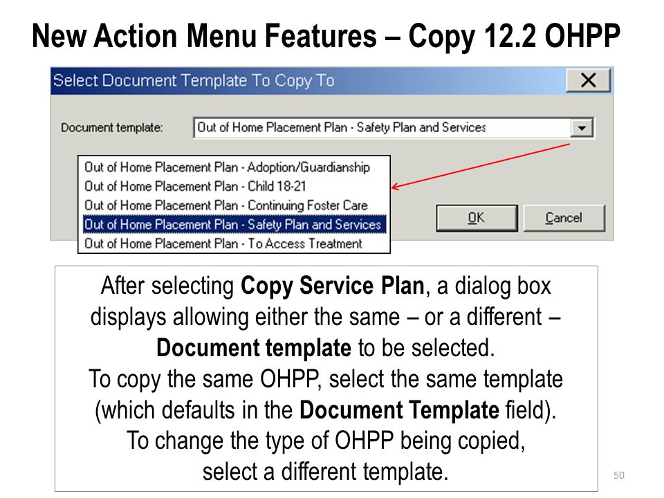 New Action Menu Features – Copy 12.2 OHPP