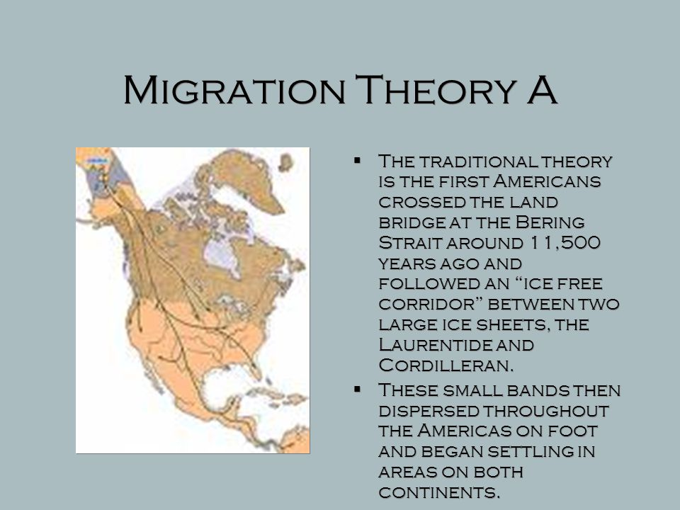 Migration Theory A